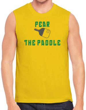 Polo Sin Mangas de Fear the Paddle Pickleball