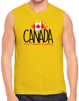 Polo Sin Mangas de Canada my favorite country