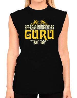 Off Road Motorcycles Guru T-Shirt - Sleeveless-Womens
