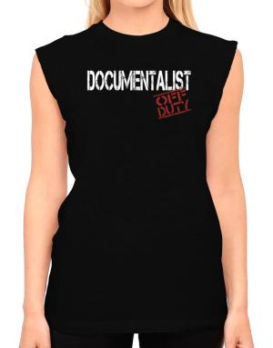 Documentalist - Off Duty T-Shirt - Sleeveless-Womens