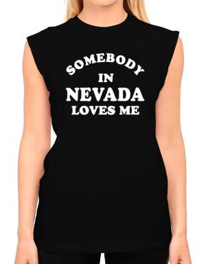 Somebody Nevada T-Shirt - Sleeveless-Womens