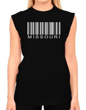 Barcode Missouri T-Shirt - Sleeveless-Womens