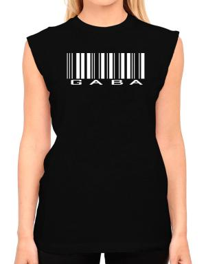 Gaba - Barcode T-Shirt - Sleeveless-Womens