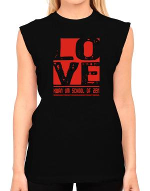 Love Kwan Um School Of Zen T-Shirt - Sleeveless-Womens