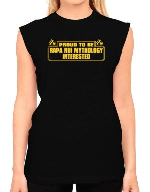 Proud To Be Rapa Nui Mythology Interested T-Shirt - Sleeveless-Womens