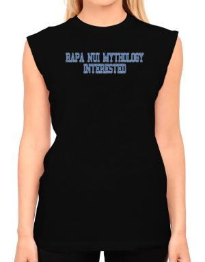 Rapa Nui Mythology Interested - Simple Athletic T-Shirt - Sleeveless-Womens
