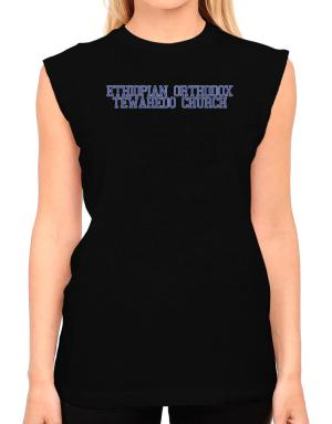 Ethiopian Orthodox Tewahedo Church - Simple Athletic T-Shirt - Sleeveless-Womens