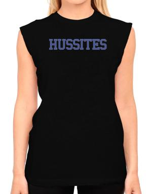 Hussites - Simple Athletic T-Shirt - Sleeveless-Womens