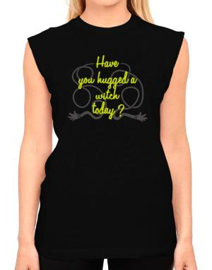 Have You Hugged A Witch Today? T-Shirt - Sleeveless-Womens
