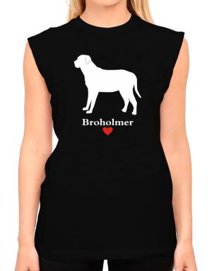 Broholmer love T-Shirt - Sleeveless-Womens