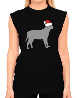 Broholmer christmas T-Shirt - Sleeveless-Womens