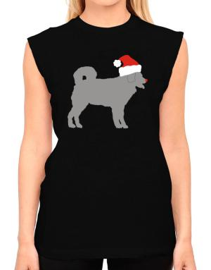 Wetterhoun christmas T-Shirt - Sleeveless-Womens