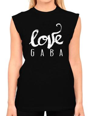 Love Gaba 2 T-Shirt - Sleeveless-Womens