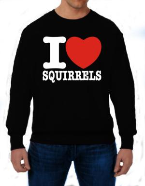Polera de I Love Squirrels