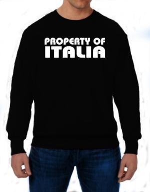 Property Of Italia Sweatshirt