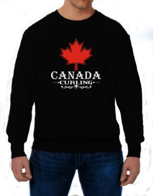Maple / Canada Curling Sweatshirt