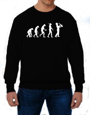 Polera de Saxophone Player Evolution