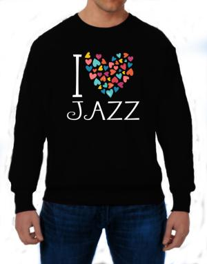 Polera de I love Jazz colorful hearts