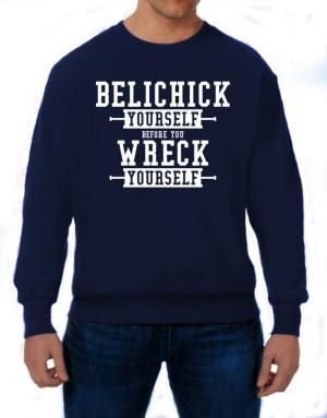Polera de Belichick yourself before you wreck yourself