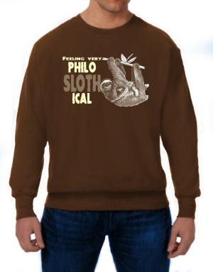 Philosophical Sloth Sweatshirt