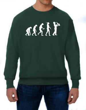 Saxophone Player Evolution Sweatshirt