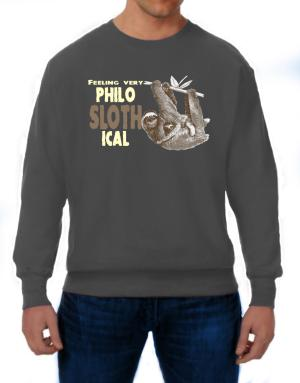 Polera de Philosophical Sloth