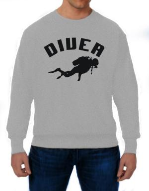 Diver Scuba Diving Sweatshirt