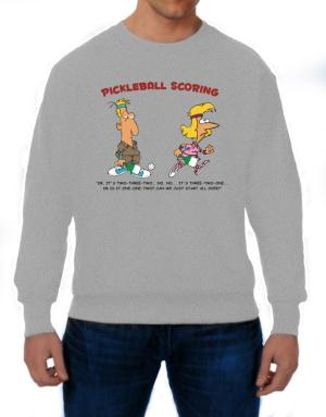 Pickleball Scoring Sweatshirt