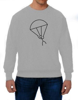 Stick Man Skydiving Sweatshirt