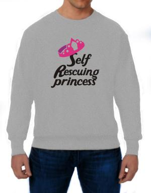 Self Rescuing Princess Sweatshirt