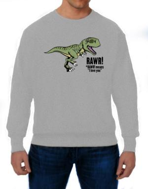 Polera de Rawr means I Love You in dinosaur