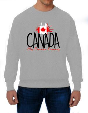 Canada my favorite country Sweatshirt