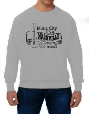 Music city Usa Nashville Tennessee Sweatshirt