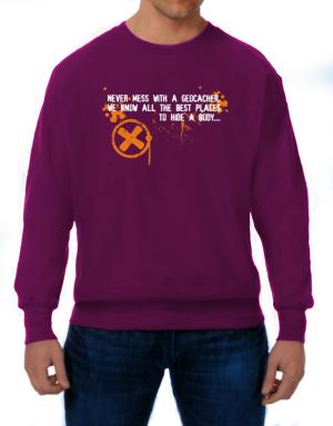 Geocaching, The best places Sweatshirt