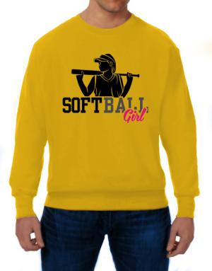 Softball girl Sweatshirt