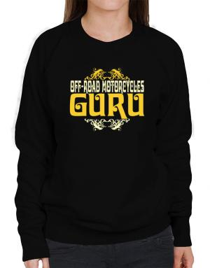 Off Road Motorcycles Guru Sweatshirt-Womens