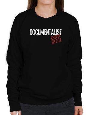 Documentalist - Off Duty Sweatshirt-Womens