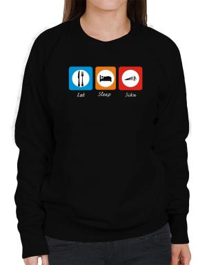 Eat sleep Siku Sweatshirt-Womens