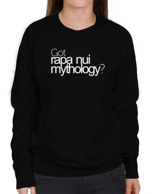 Got Rapa Nui Mythology? Sweatshirt-Womens
