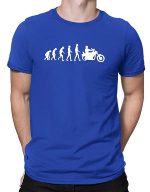 Touring Motorcycle Evolution Men T-Shirt