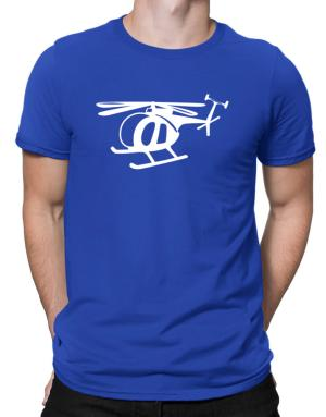 Mini Helicopter Men T-Shirt