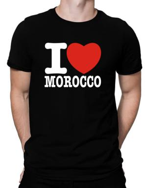 I Love Morocco Men T-Shirt