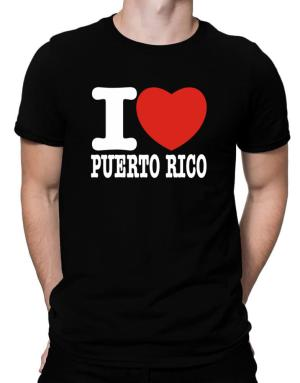 I Love Puerto Rico Men T-Shirt