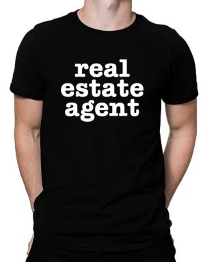 Real Estate Agent Men T-Shirt