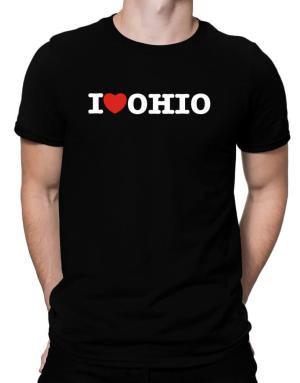 Playeras de I Love Ohio