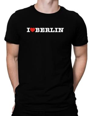 I Love Berlin Men T-Shirt