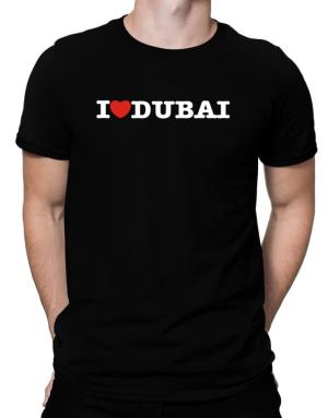 Playeras de I Love Dubai