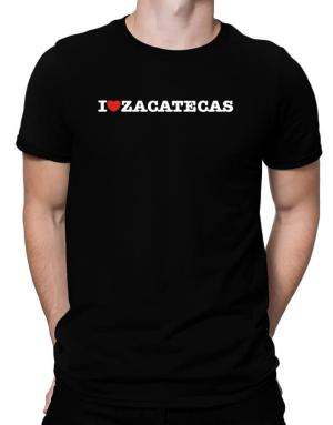 I Love Zacatecas Men T-Shirt