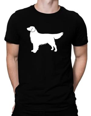 Polo de Golden Retriever Silhouette Embroidery
