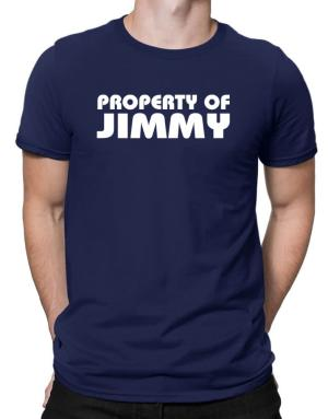 """ Property of Jimmy "" Men T-Shirt"